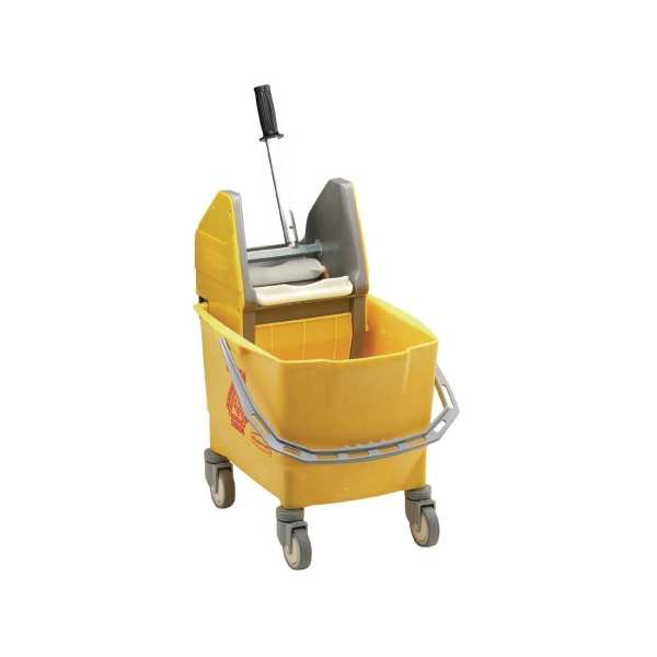 Rubbermaid Combo Mop Bucket & Wringer Yellow - 25Ltr