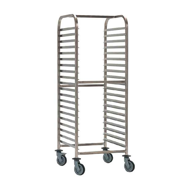 Bourgeat Racking Trolley GN - 2/1 20 Levels (Direct)-0