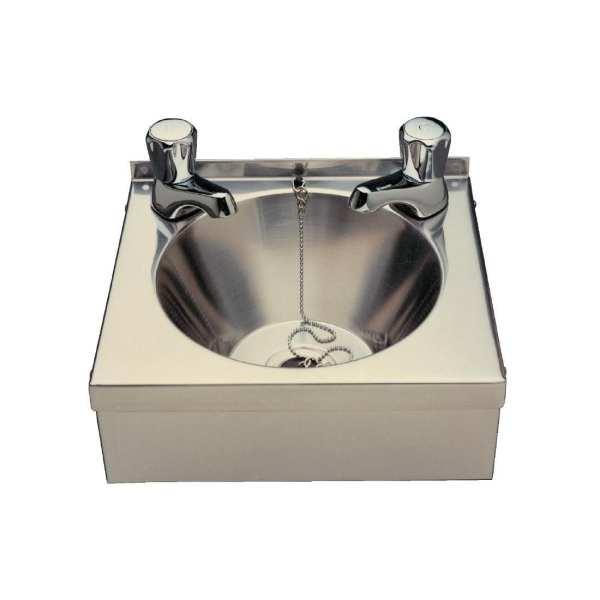Vogue St/St Mini Wash Basin - 305x268x165mm-0