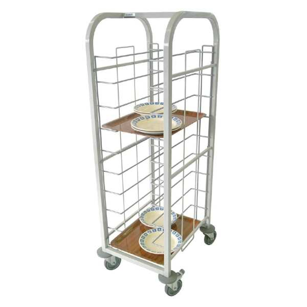 Tray Clearing Trolley - 10 level Fully Welded (Direct)-0
