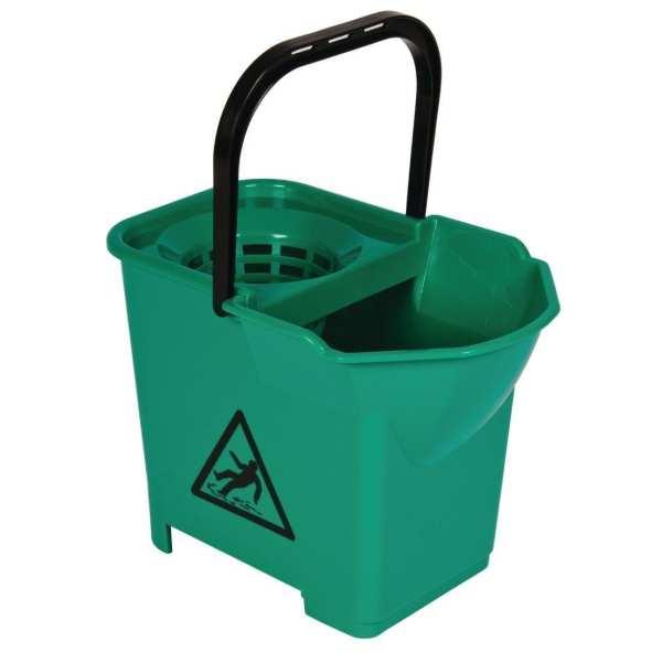 Mop Bucket Complete Green - 3 parts