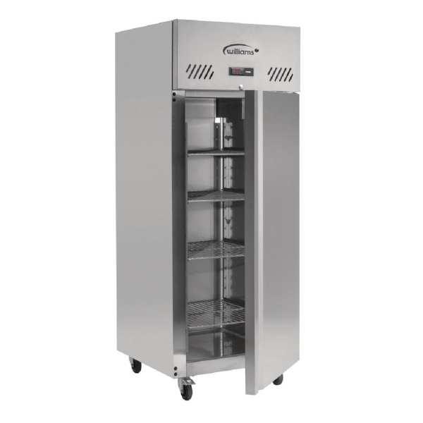 Williams Jade 1 Door 620Ltr Cabinet Meat Fridge R134a (StSt Ext/Alu Int)(Direct)-0