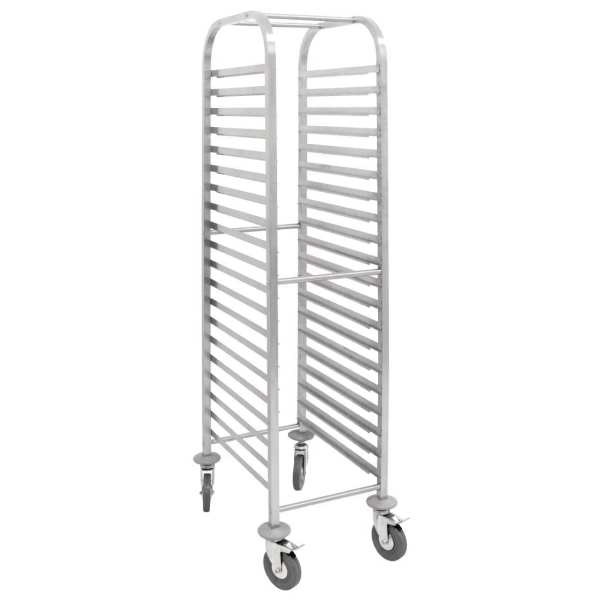 Vogue Gastronorm 1/1 Racking Trolley-0