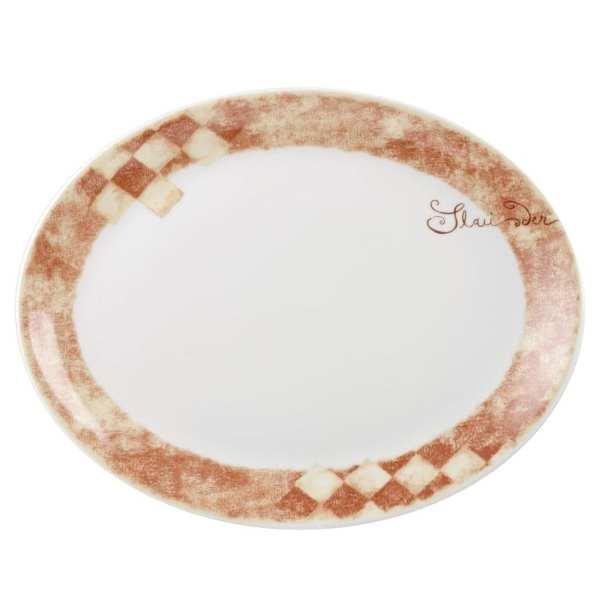 "Tuscany Oval Dish 14"" (Box 12) (Direct)-0"