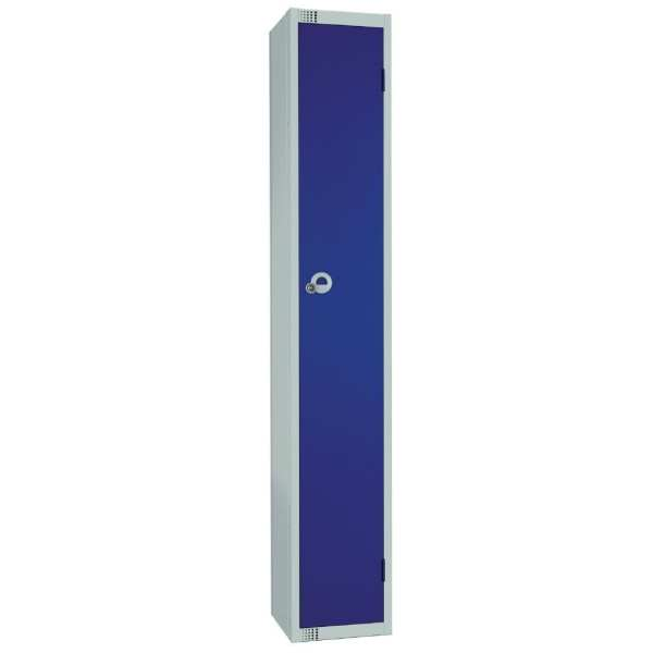 450mm Deep Locker 1 Door Padlock Blue - 1800x450x300mm (Direct)-0