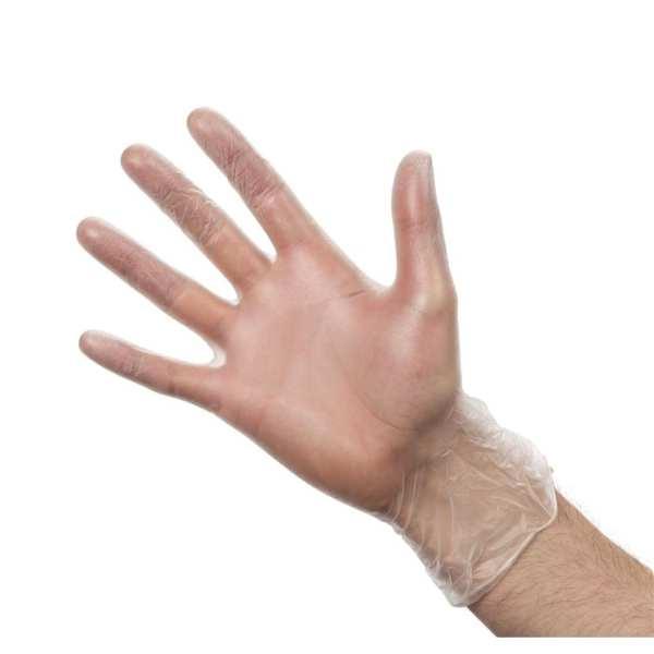Vinyl Gloves - Powdered - Extra Large - Box 100