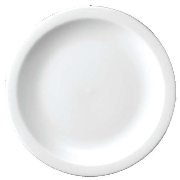 """Churchill White Pizza Plate - 280mm 11 1/4"""" (Box 12)-0"""