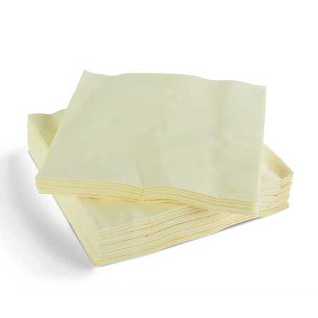 Napkins 40cm 2ply - Buttermilk -0
