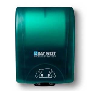 Bay West Opti Serv Hand Towel Dispenser - Green