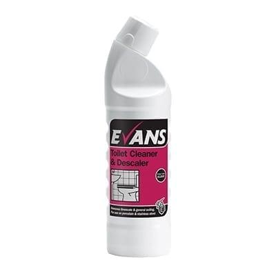 Evans - TOILET CLEANER & DESCALER - 1 litre