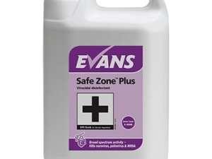 Evans - SAFE ZONE PLUS Virucidal Disinfectant Cleaner - 5 litre