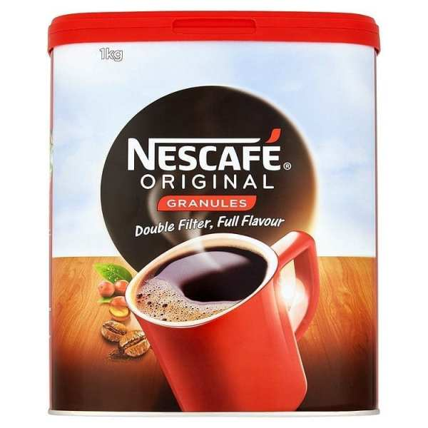 Nescafe Coffee Granules - 1kg Tin