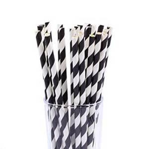 biodegradble-paper-drinking-straws-black-and-white-