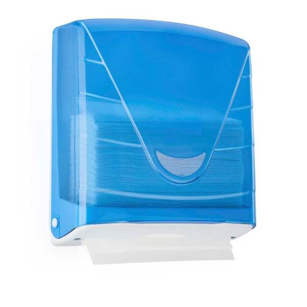 Blue Paper Hand towel Dispensers