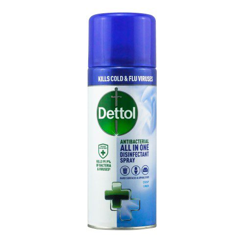 Dettol All in One Disinfectant Spray - 6 x 400ml