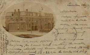 Oudste ansichtkaart Loosduinen Badhotel 1899