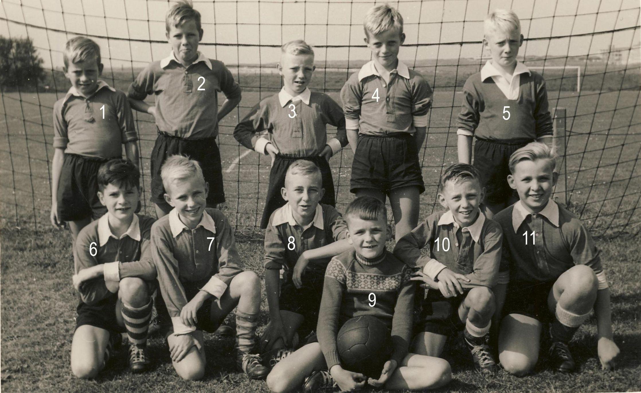pupillen elftal loosduinen 1960