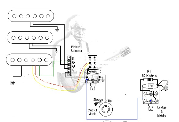 [DIAGRAM] Fender Hss 1 Push Pull Volume 1 Tone Wiring