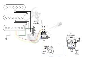 HSS, 1 vol, 1 tone, pushpull Booster?   Fender
