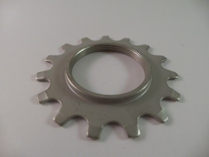 Cassette 15T Uniglide Cog Threaded (1st position) 600 EX, Silver 78 sp