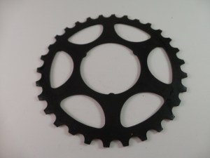 30T Shimano Uniglide Cog Large Spline fits Shimano Freewheels in large spline positions