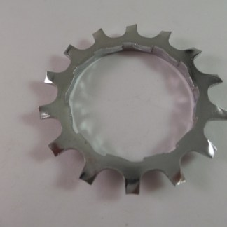 14T Uniglide Freewheel Cog wSpacer fits Dura Ace 7 speed, Chrome