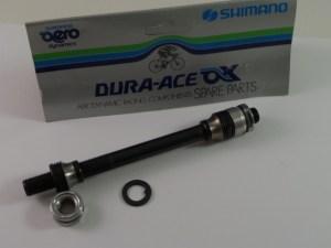 Dura Ace AX 6-7 speed Rear Axle Set, 10x1x137mm