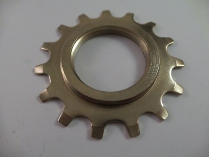 Cassette 15T Uniglide Cog Dura Ace EX Gold Colored Threaded (1st position)