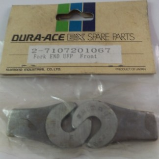 Shimano Dura Ace EX Forged Steel Front Dropouts Pair