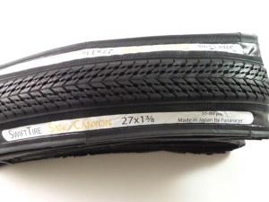 "SwiftTire Sand Canyon 27"" x 1 38 Premium Touring Tire – Black Sidewalls"