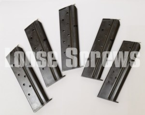 5-PACK Metalform 1911 9mm 9 round Mag Full Size ROCK ISLAND ARMORY (USA-BLUED)