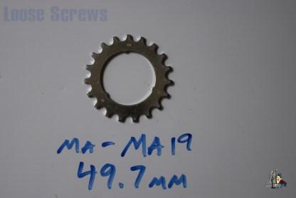 Maillard 700 Freewheel MA 5 6 and 7 speed 19T Cog