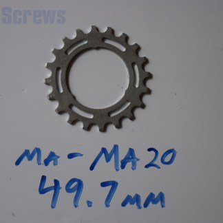 Maillard 700 Freewheel MA 5 6 and 7 speed 20T Cog