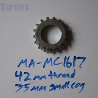 Maillard 700 Course Freewheel MC 7 speed 16T & 17T threaded Cog