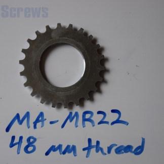 "Maillard 700 Freewheel ""MR"" 6 and 7 speed 22T threaded Cog"