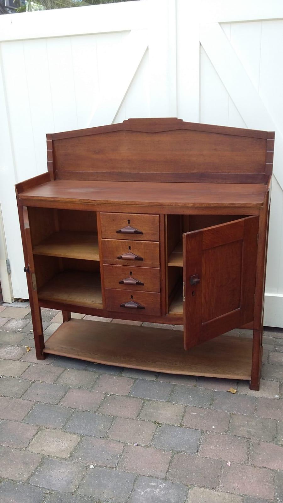Betere VERKOCHT   Dressoir   Amsterdamse School - Loos Vintage Furniture PS-23