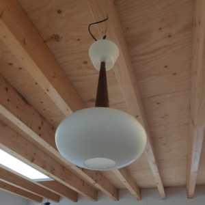Hanglamp van Philips ontwerp van Louis Kalff