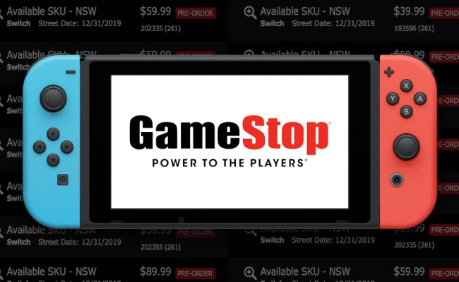 Gamestop Adds 21 Upcoming Nintendo Switch Games To Their