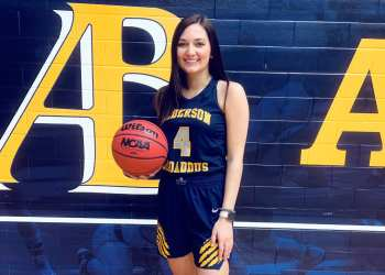 Hannah Taylor poses in her new threads after a visit to Alderson Broaddus. (Submitted Photo)
