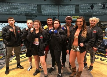 The 2019 Beckley Toughman winners pose after the event. (Photo Courtesy of Jerry Thomas/WV Toughman)
