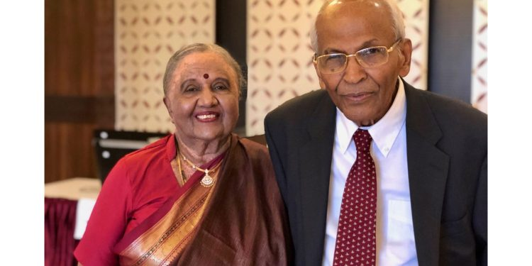 Vijaya and T.V. Ramakrishna contributed more than $400,000 to establish a scholarship that supports underrepresented students at WVU. (Submitted Photo)