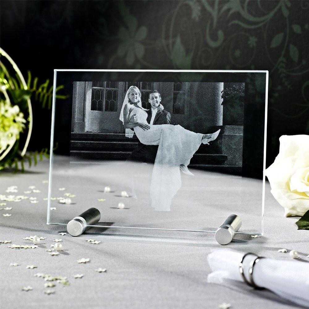 2D Laser Foto im groen Viamant Flachglas  Looxisde