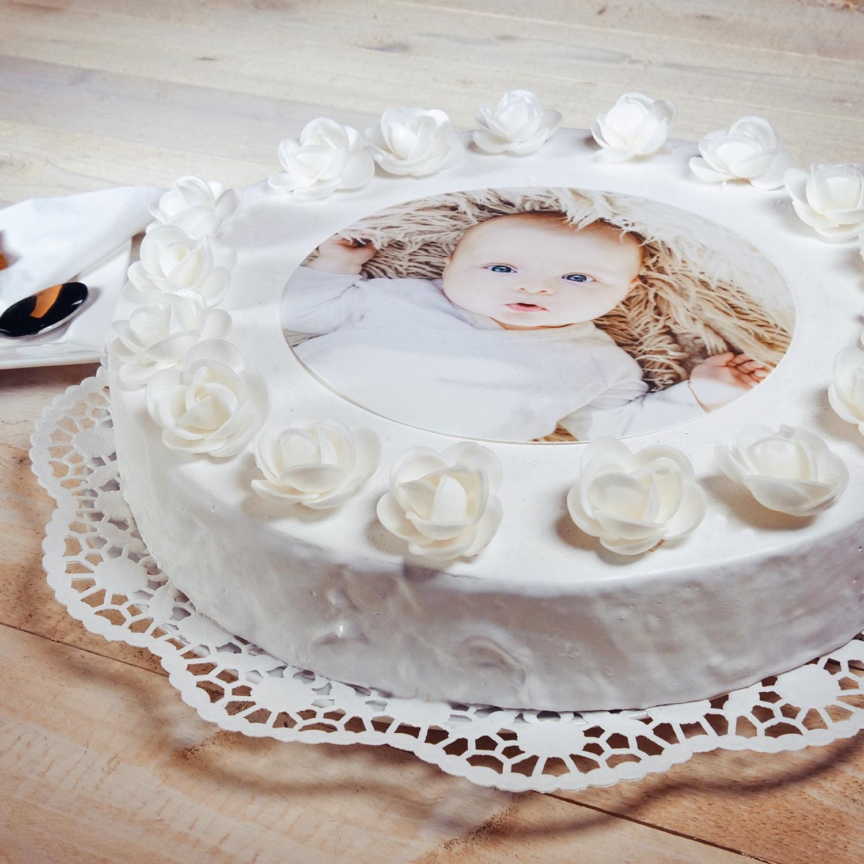 Tortenfoto  Essbares Foto auf Torte