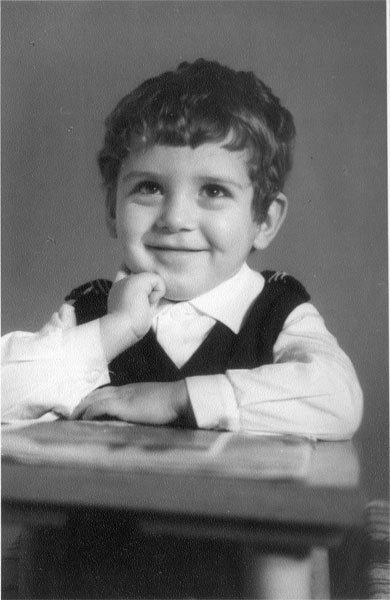 Анатолий Лопатин в детстве