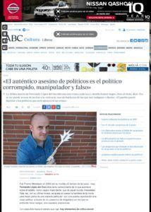 thumbnail of «El auténtico asesino de políticos es el político corrompido, manipulador y falso»