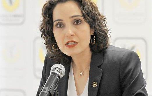 Tanya Müller anunció que a partir de mañana empieza la nueva medida del Hoy No Circula. Foto del Gobierno del Distrito Federal.