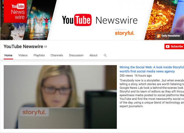 YouTube lanzó hoy este servicio de noticias. Foto de techtimes.