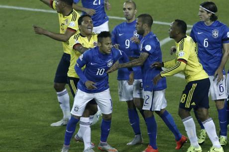 Neymar se perdería el resto de la Copa América. Foto de Cancha Llena