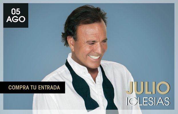 Julio Iglesias se presentará el próximo 5 de agosto en Marbella, España.  Foto de Starlitemarbella