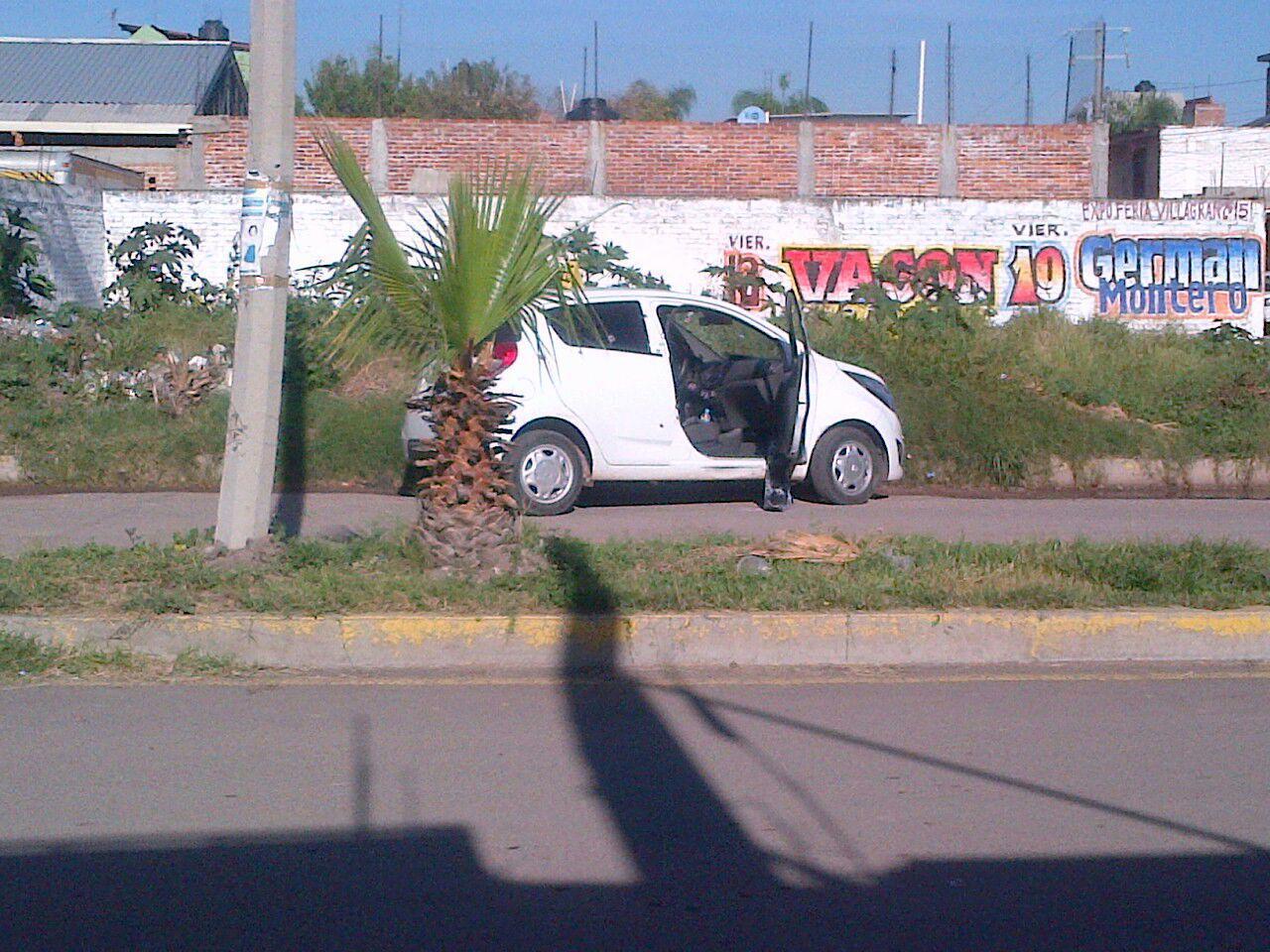 Vehículo del regidor. Foto: Zona Franca